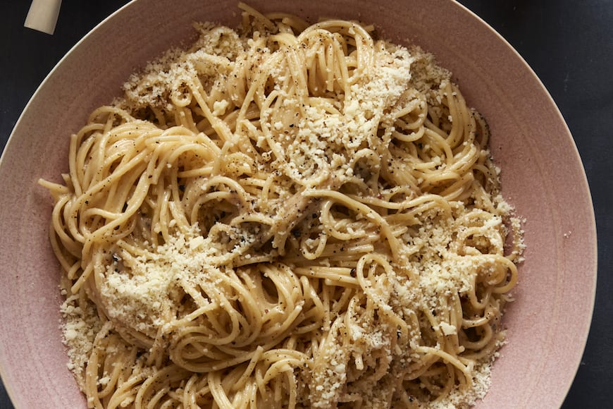 Cacio e Pepe from www.whatsgabycooking.com (@whatsgabycookin)