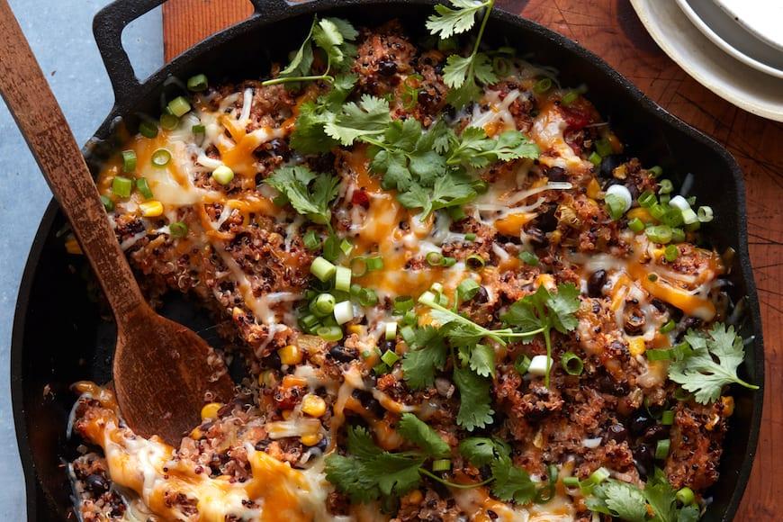 Vegetarian Quinoa Bake from www.whatsgabycooking.com (@whatsgabycookin)