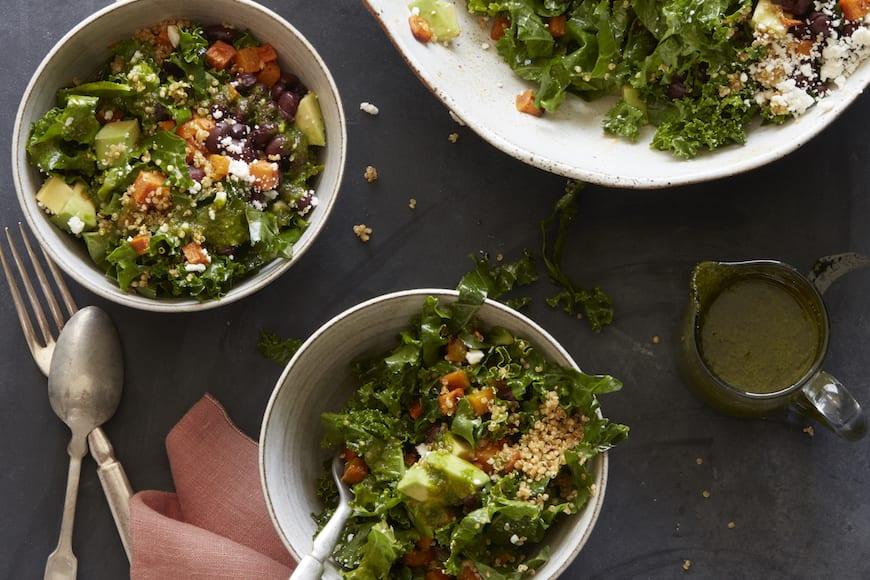 Southwestern Roasted Vegetable Salad from www.whatsgabycooking.com (@whatsgabycookin)
