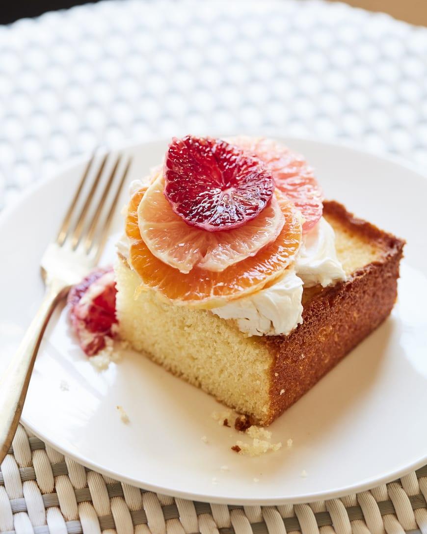 Citrus Sheet Cake