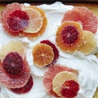 Citrus Sheet Cake from www.whatsgabycooking.com (@whatsgabycookin)