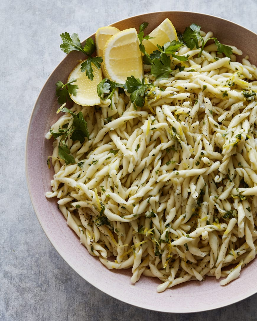 Pasta Gremolata from www.whatsgabycooking.com (@whatsgabycookin)