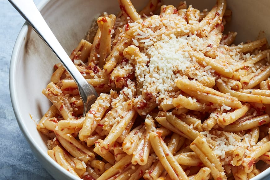 Calabrian Chili Pasta from www.whatsgabycooking.com (@whatsgabycookin)