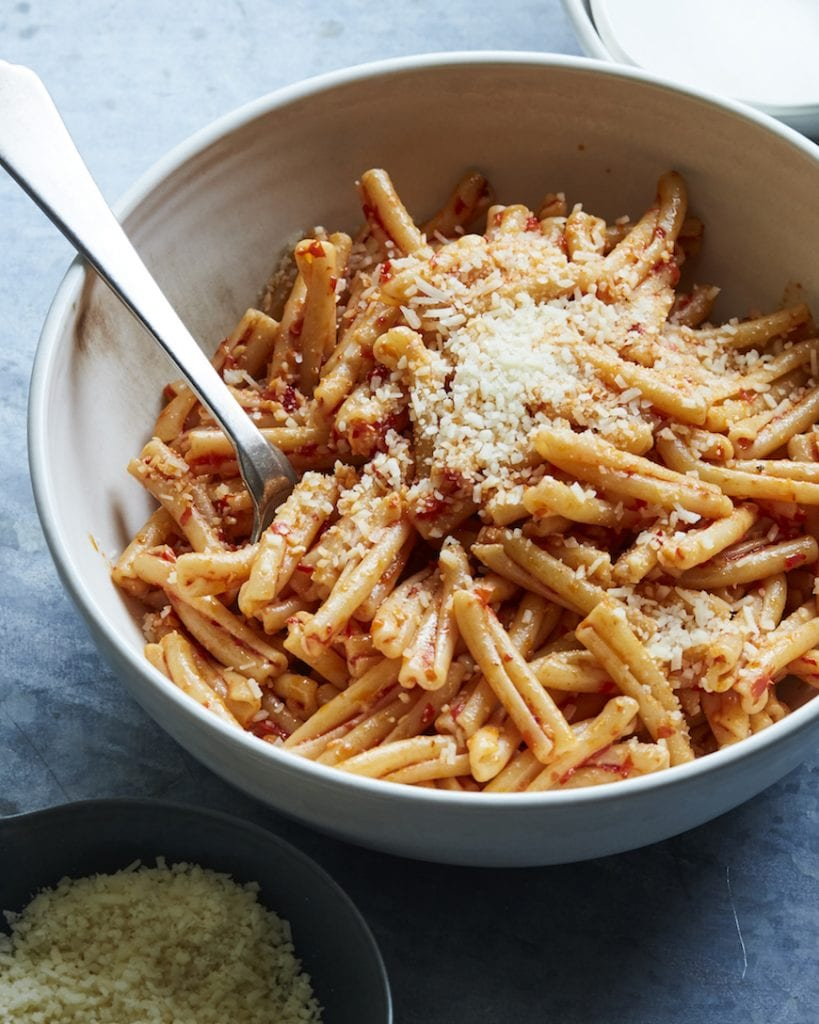 Calabrian Chili Pasta from www.whatsgabycooking.com (@whatsgabycookin)