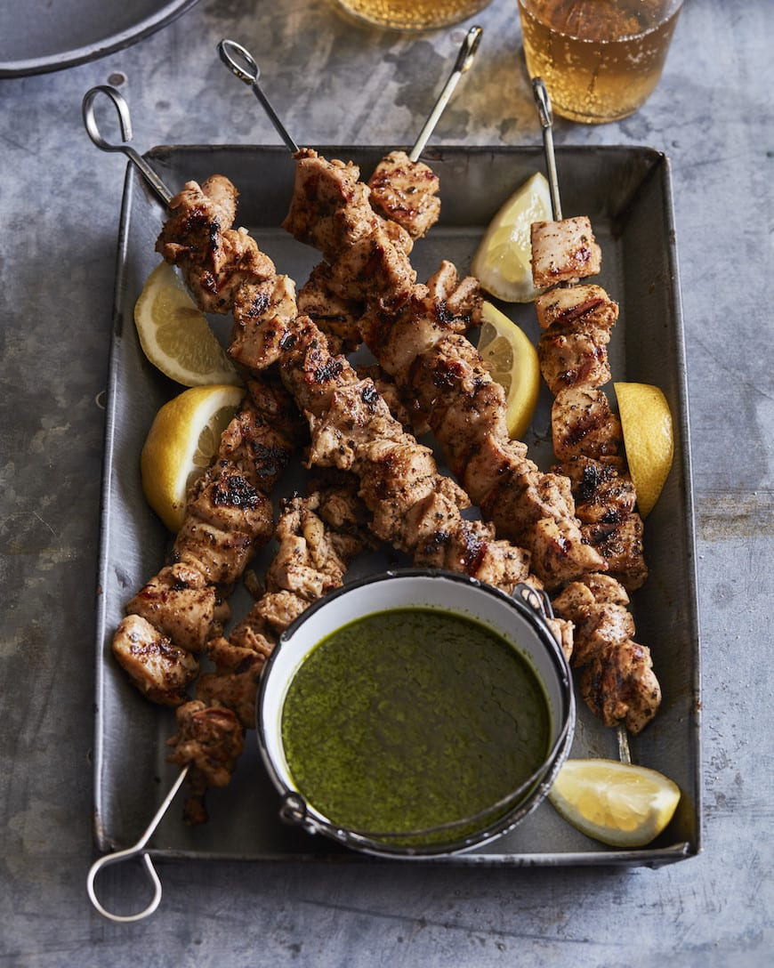 Chicken Shish Kabobs from www.whatsgabycooking.com (@whatsgabycookin)