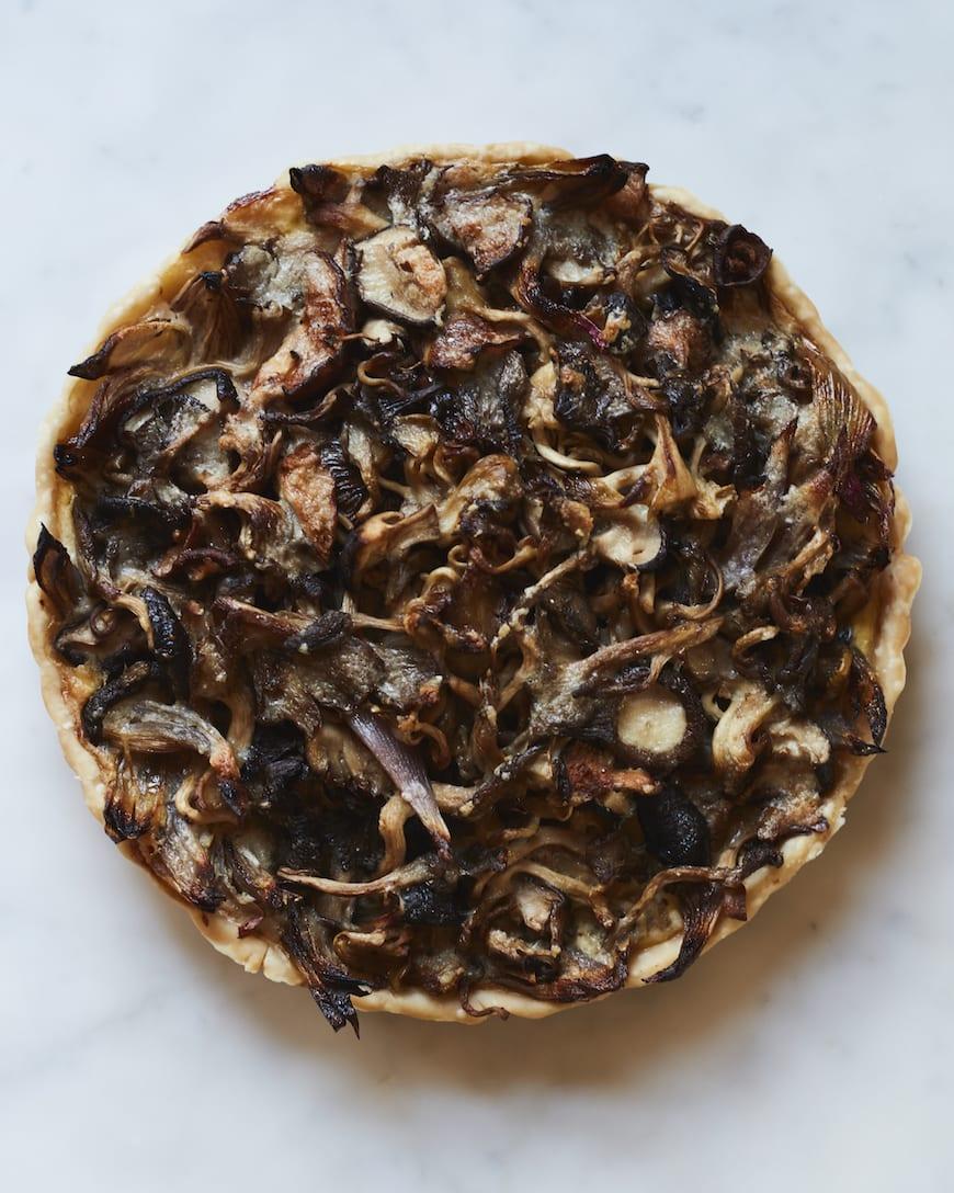 Wild Mushroom Tart from www.whatsgabycooking.com (@whatsgabycookin)
