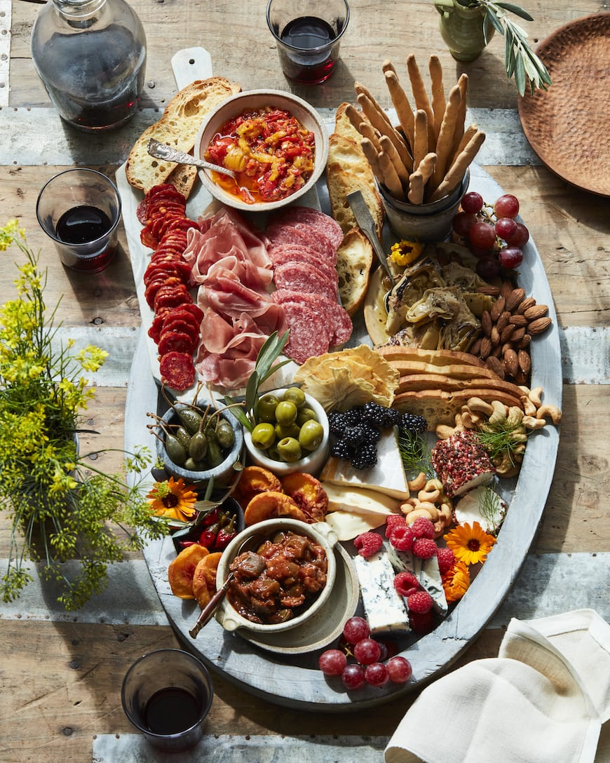 Summer Charcuterie Snack Board from www.whatsgabycooking.com (@whatsgabycookin)