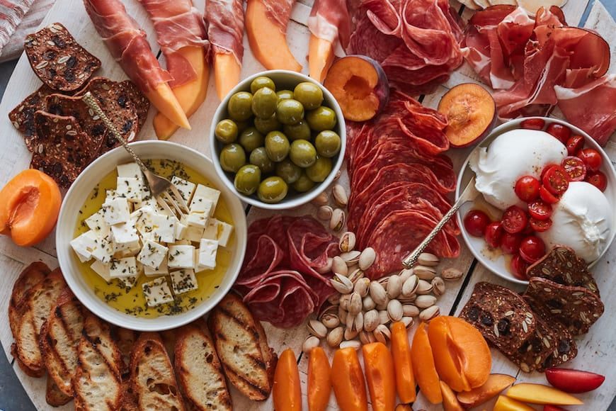 Summer Appetizer Board from www.whatsgabycooking.com (@whatsgabycookin)
