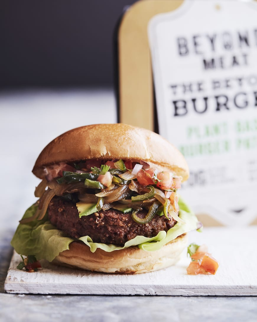 Southwestern Beyond Burger from www.whatsgabycooking.com (@whatsgabycookin)
