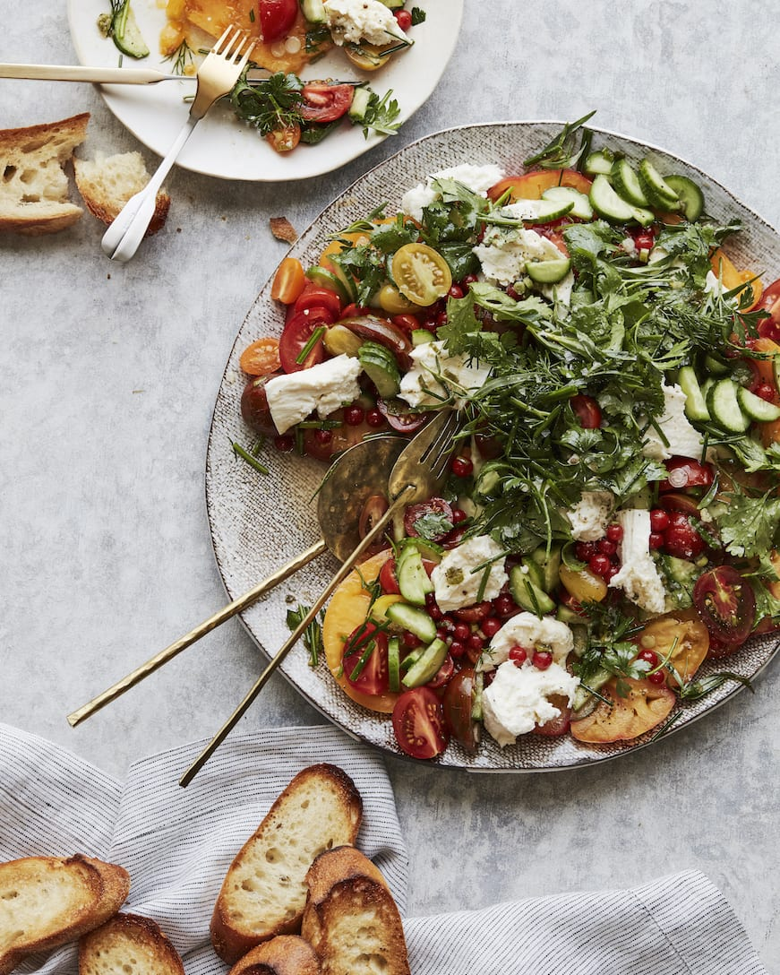 Herb Caprese Salad from www.whatsgabycooking.com (@whatsgabycookin)