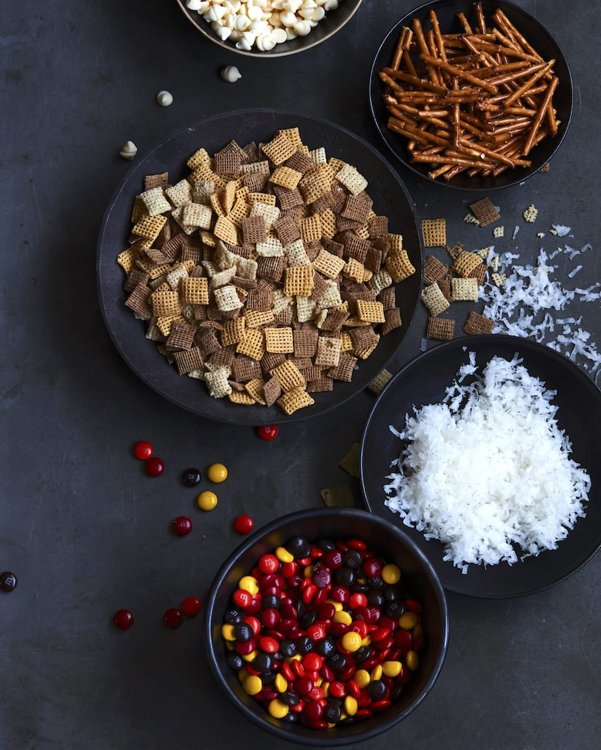 Coconut White Chocolate Chex Party Mix from www.whatsgabycooking.com (@whatsgabycookin)