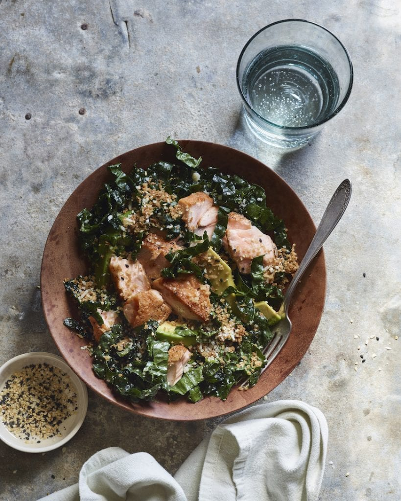 The New Go-To Kale Salad from www.whatsgabycooking.com (@whatsgabycookin)