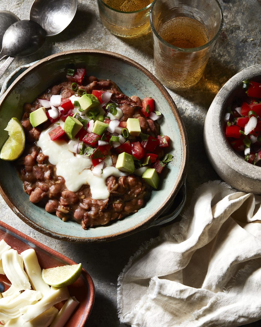 Mexican Pinto Beans from www.whatsgabycooking.com (@whatsgabycookin)