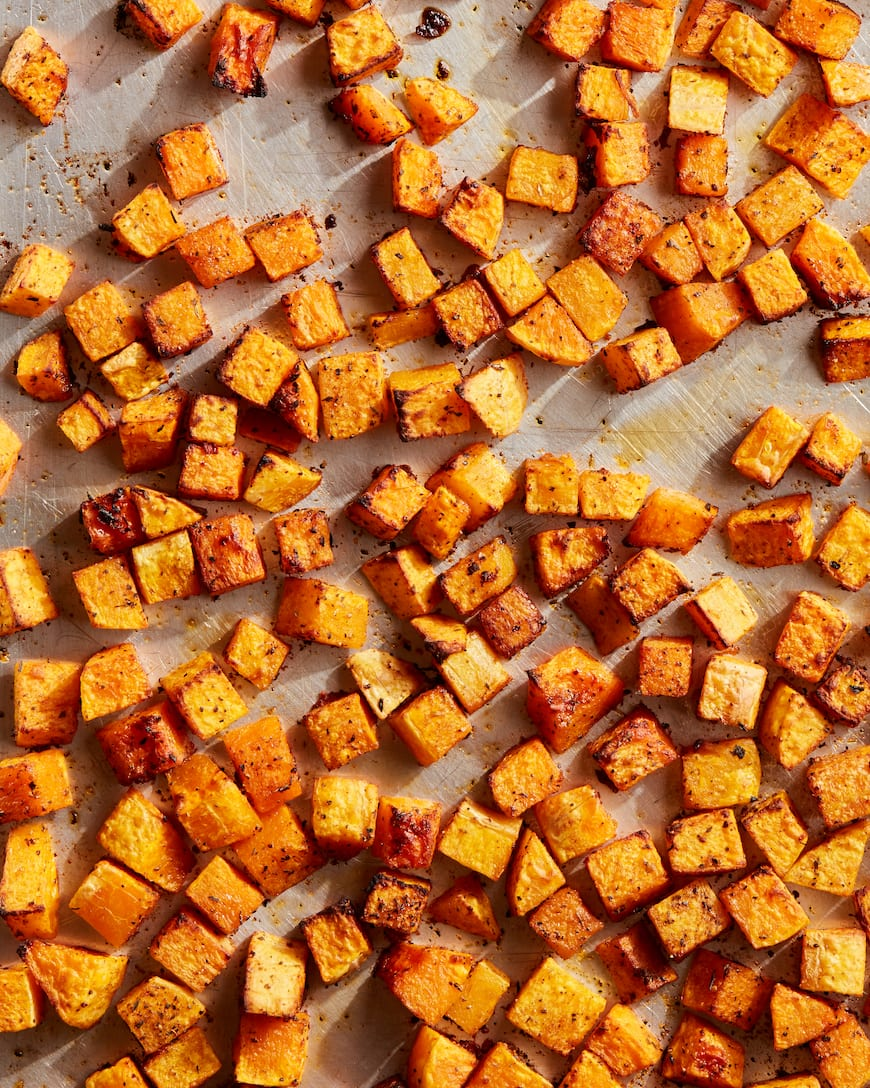 Roasted Butternut Squash from www.whatsgabycooking.com (@whatsgabycookin)