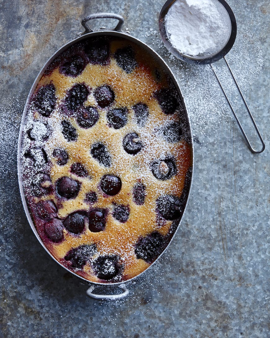 Cherry Clafoutis from www.whatsgabycooking.com (@whatsgabycookin)