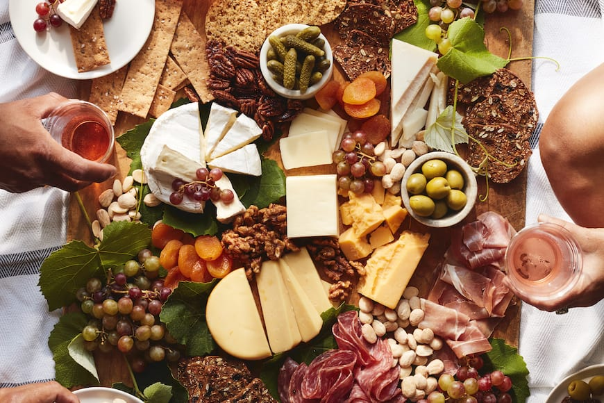 Summer Snack Board from www.whatsgabycooking.com (@whatsgabycookin)