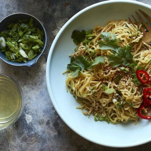 Sesame Ginger Noodles from www.whatsgabycooking.com (@whatsgabycookin)