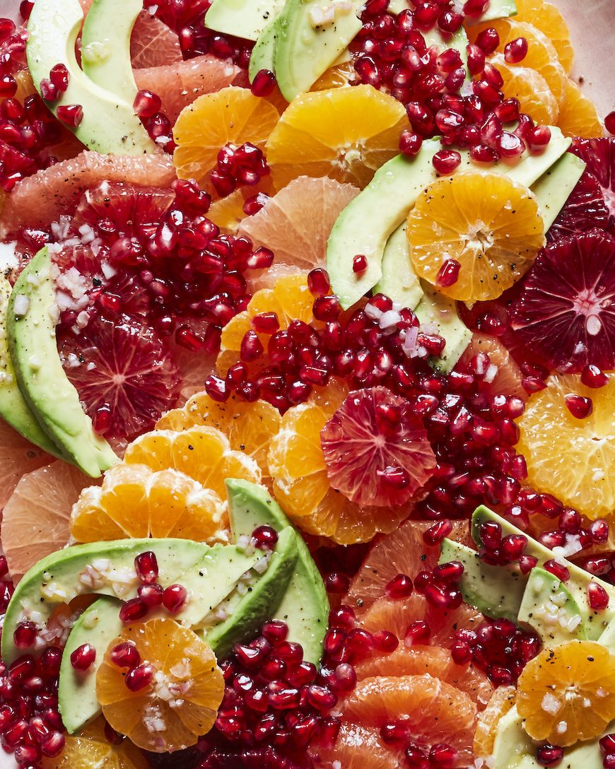 Pomegranate Citrus Salad from www.whatsgabycooking.com (@whatsgabycookin)