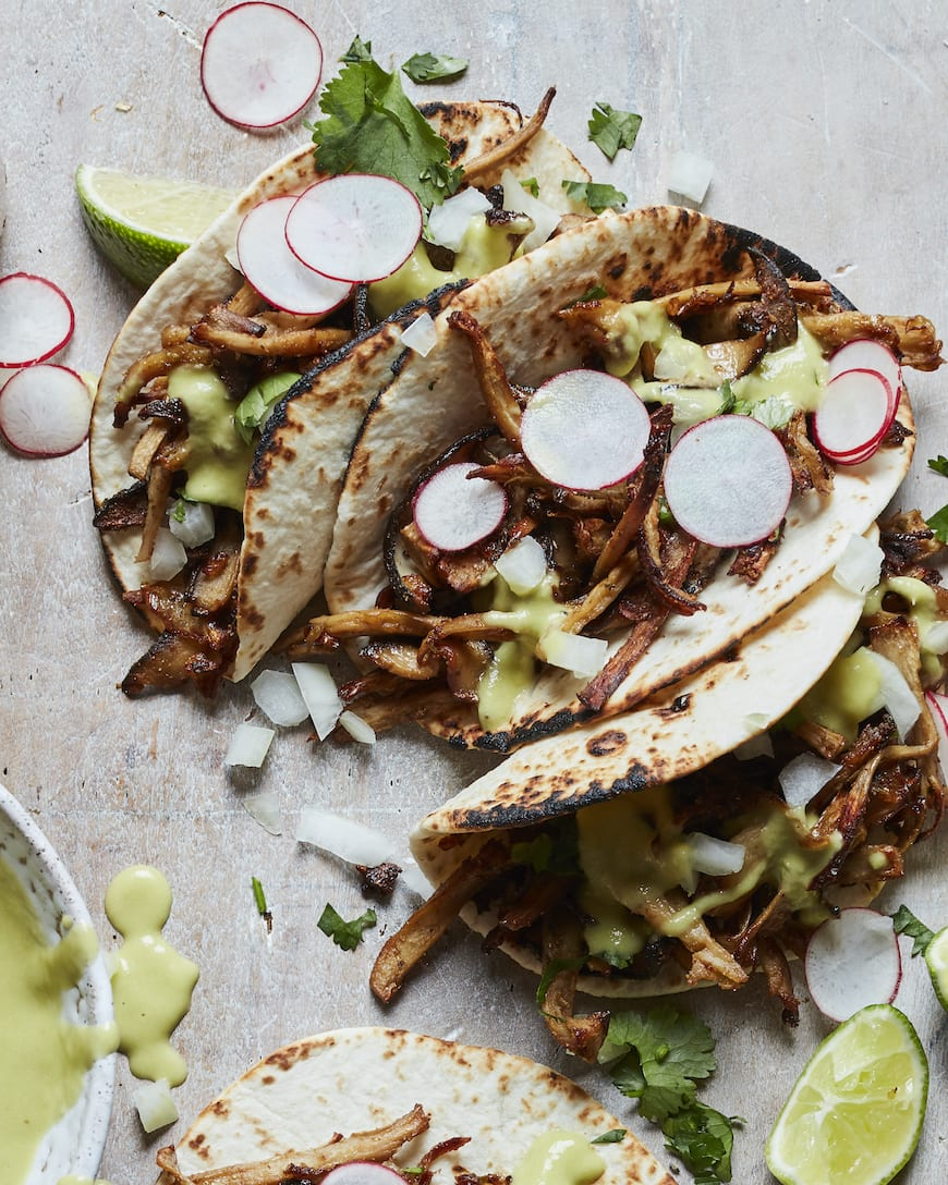 Mushroom Carnitas Taco from www.whatsgabycooking.com (@whatsgabycookin)