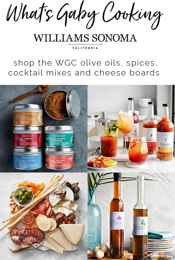 What's Gaby Cooking at Williams Sonoma