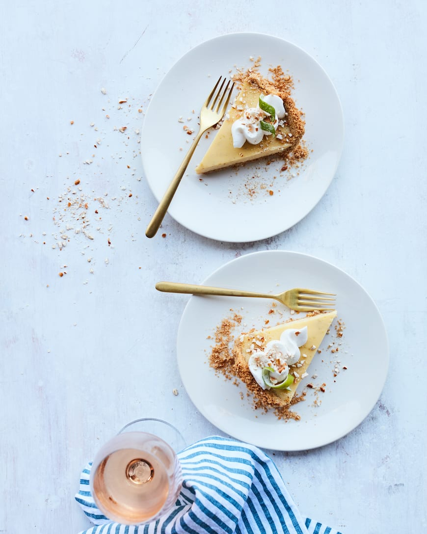 Salted Key Lime Pie from www.whatsgabycooking.com (@whatsgabycookin)