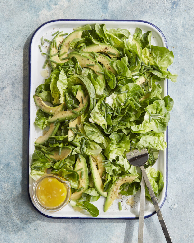 Butter Lettuce Salad from www.whatsgabycooking.com (@whatsgabycookin)