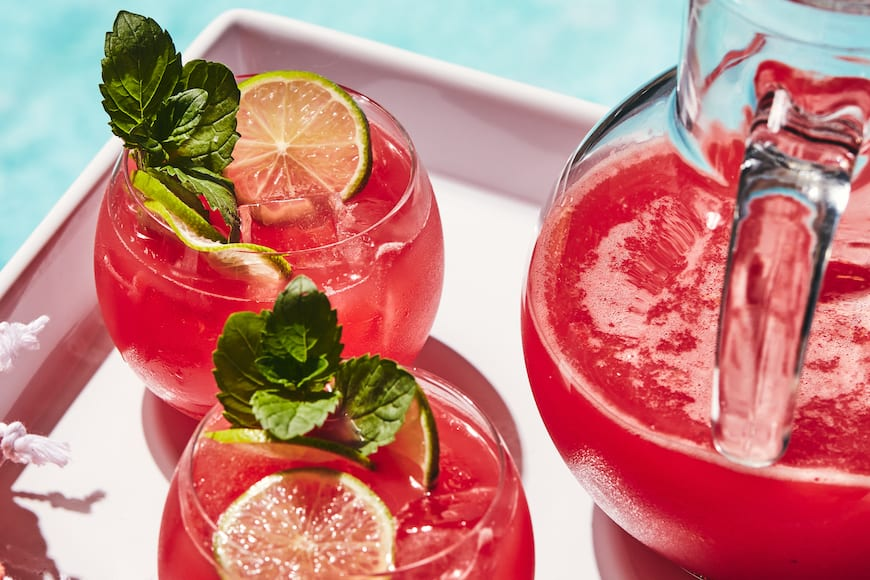 Watermelon Tequila Punch from www.whatsgabycooking.com (@whatsgabycookin)