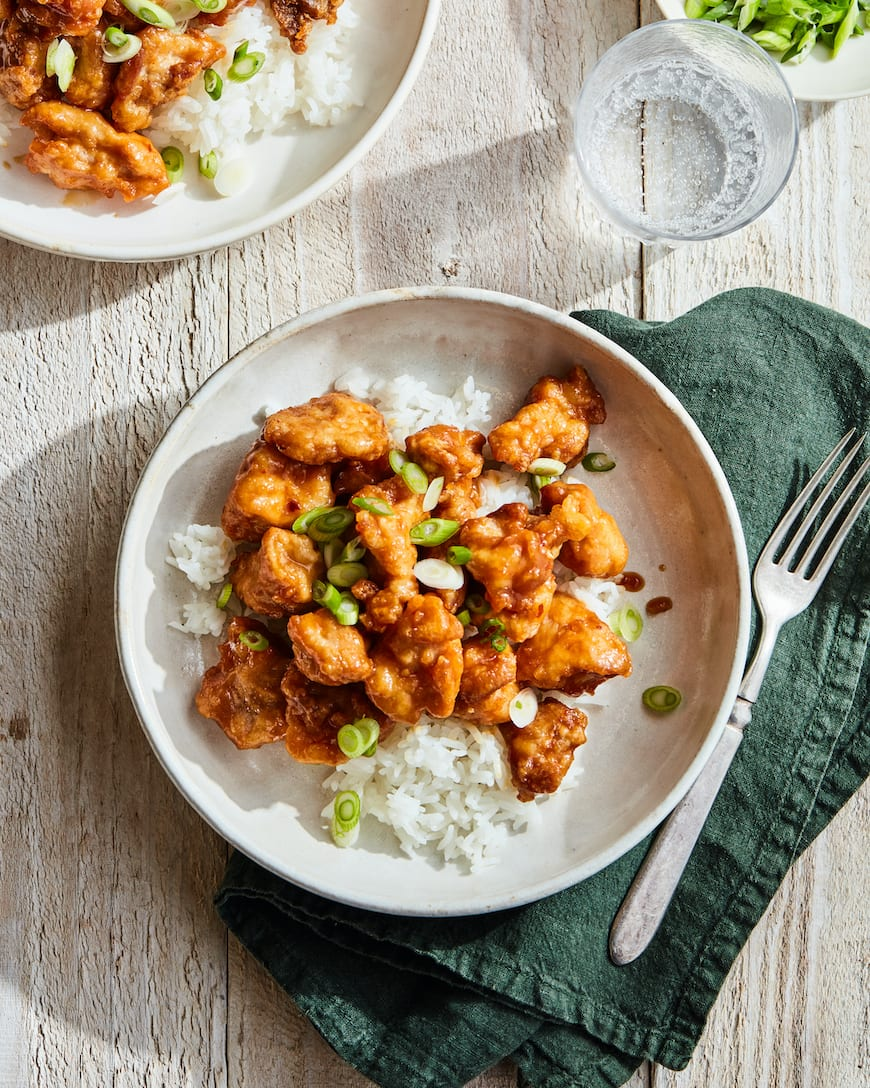 Better Than Takeout Orange Chicken from www.whatsgabycooking.com (@whatsgabycookin)