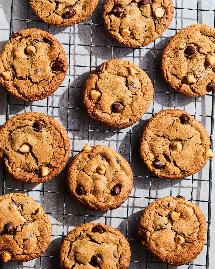 Butterscotch and Chocolate Chip Molasses Cookies from www.whatsgabycooking.com (@whatsgabycookin)