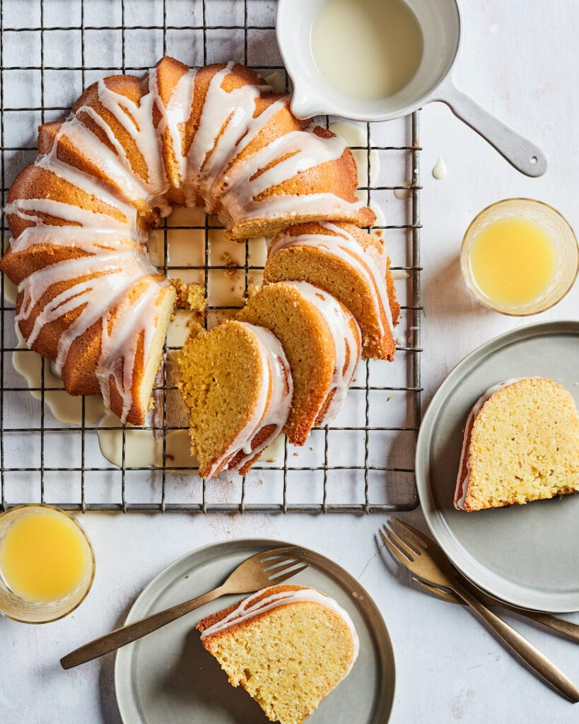 Orange Glazed Bundt Cake from www.whatsgabycooking.com (@whatsgabycookin)