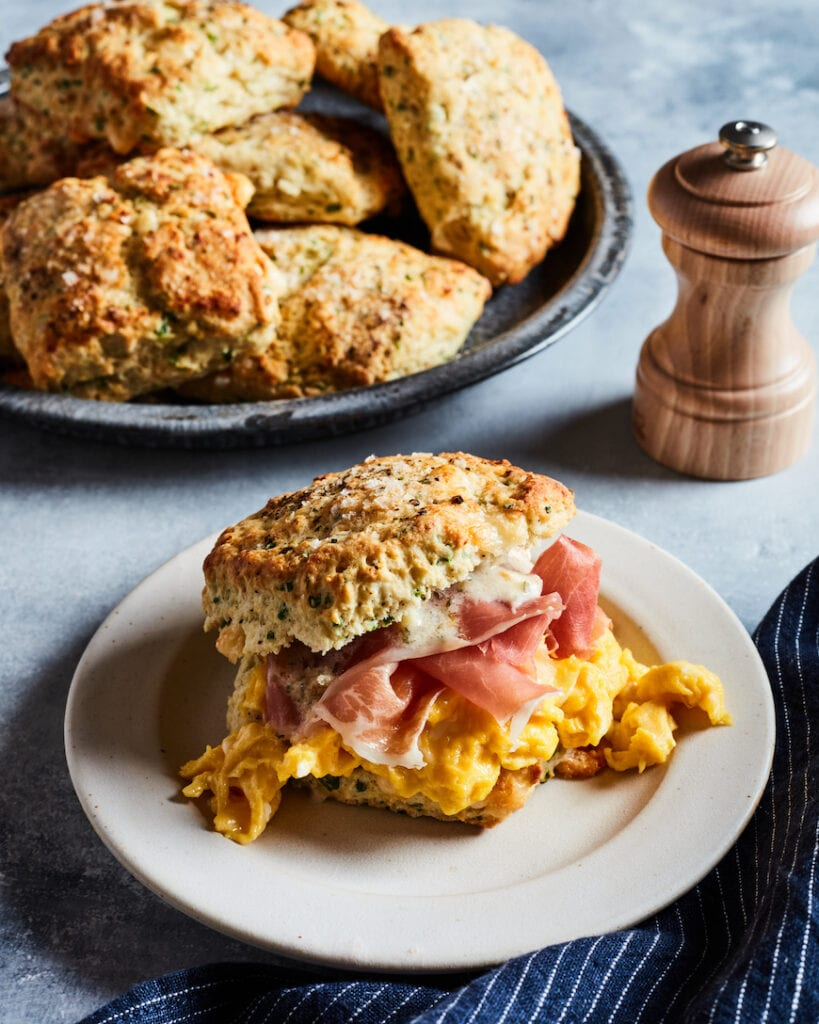 Garlic and Herb Parmesan Biscuits from www.whatsgabycooking.com (@whatsgabycookin)