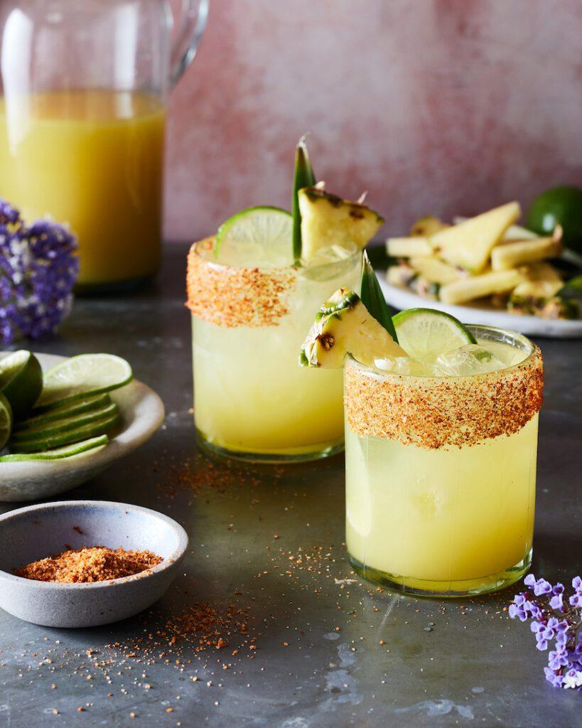 Pineapple Margarita from www.whatsgabycooking.com (@whatsgabycookin)