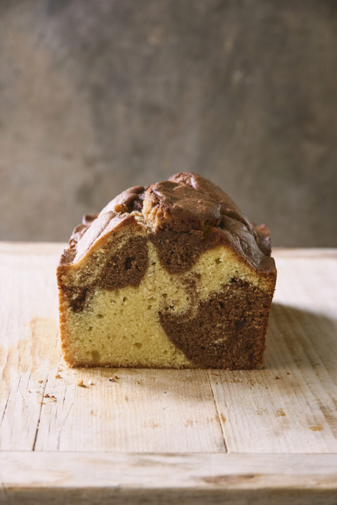 coconut marble loaf
