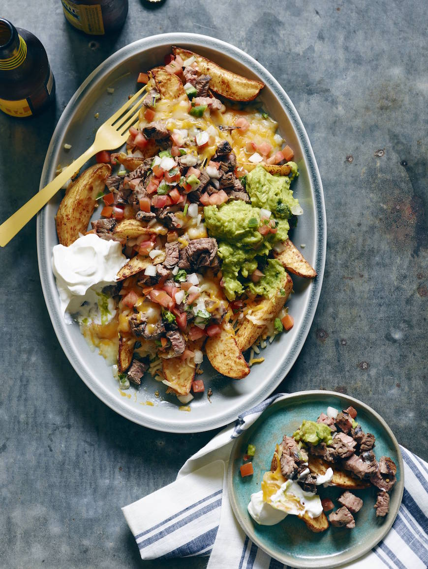Carne Asada Nacho Fries from www.whatsgabycooking.com (@whatsgabycookin)