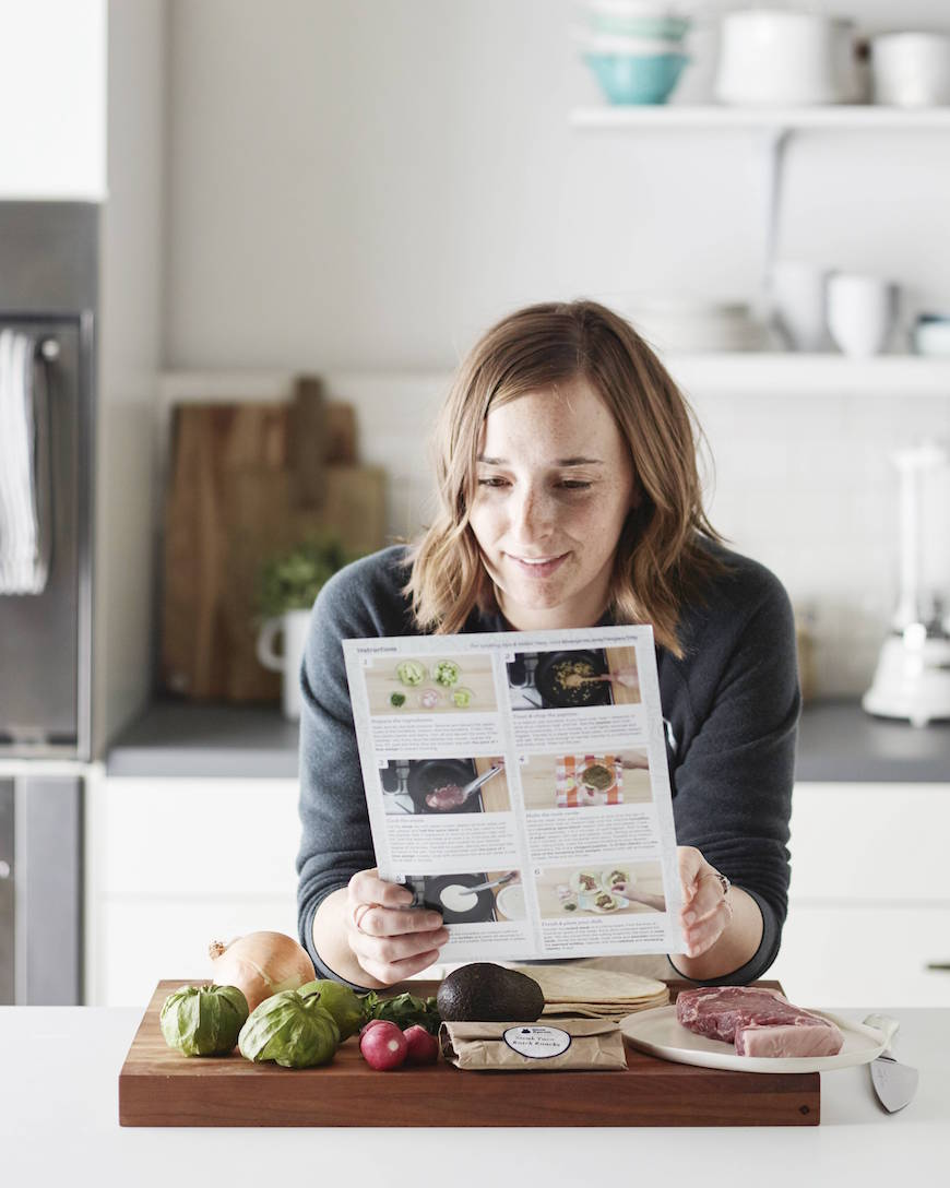What's Gaby Cooking // Blue Apron