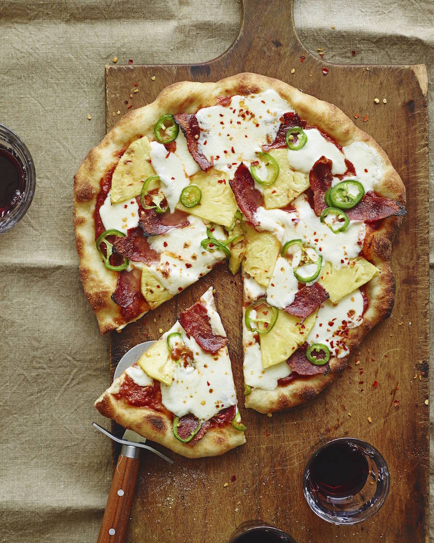 Hawaiian Pizza from www.whatsgabycooking.com (@whatsgabycookin)