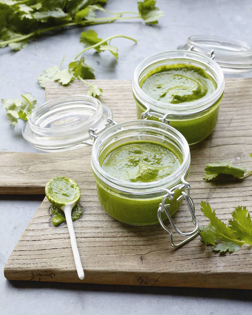 Cilantro Vinaigrette from www.whatsgabycooking.com is the perfect go-to sauce for anything! Use it as a salad dressing or a sauce! (@whatsgabycooking)