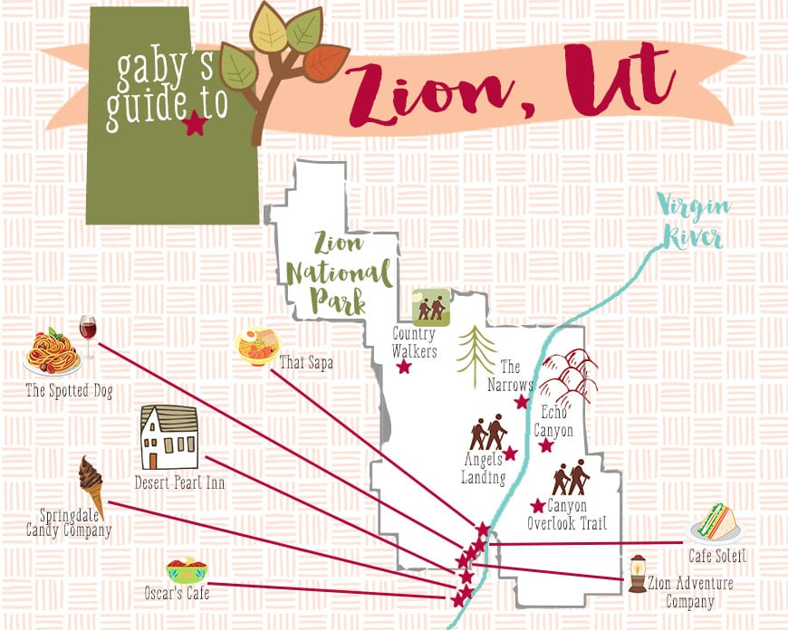 Gaby's Guide to Zion