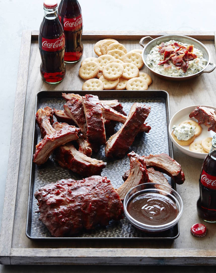 Coca-Cola Marinated Ribs with Homemade BBQ Sauce from www.whatsgabycooking.com (@whatsgabycookin)