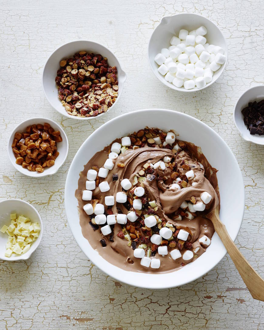 Rocky Road Ice Cream from www.whatsgabycooking.com (@whatsgabycookin)