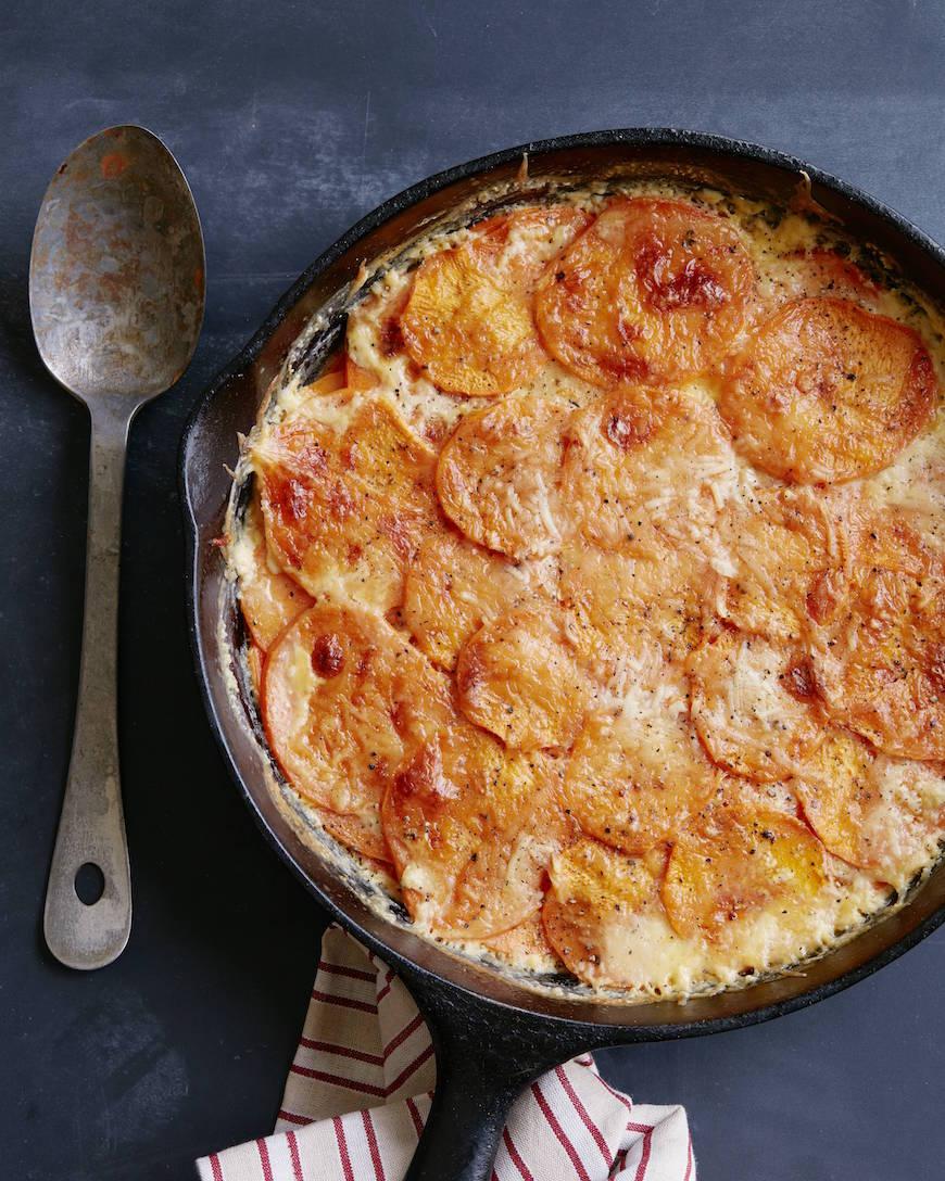 Sweetpotato Gratin from www.whatsgabycooking.com (@whatsgabycookin)