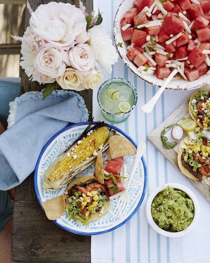 The ultimate menu for a West Coast Cantina Watermelon Salad from www.whatsgabycooking.com (@whatsgabycookin)