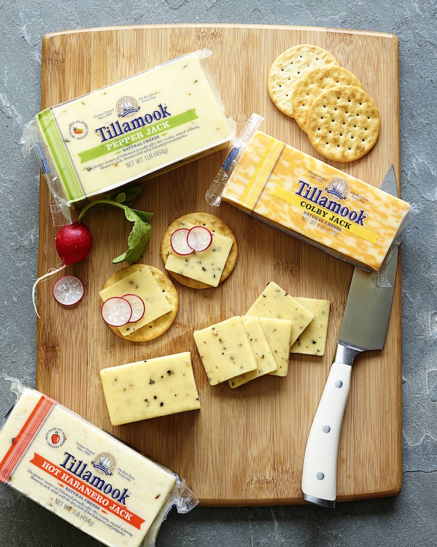 Tillamook Cheese Board