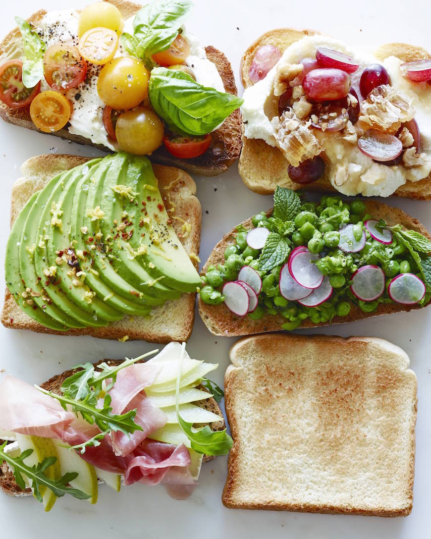 Toast (5 ways) from www.whatsgabycooking.com (@whatsgabycookin)