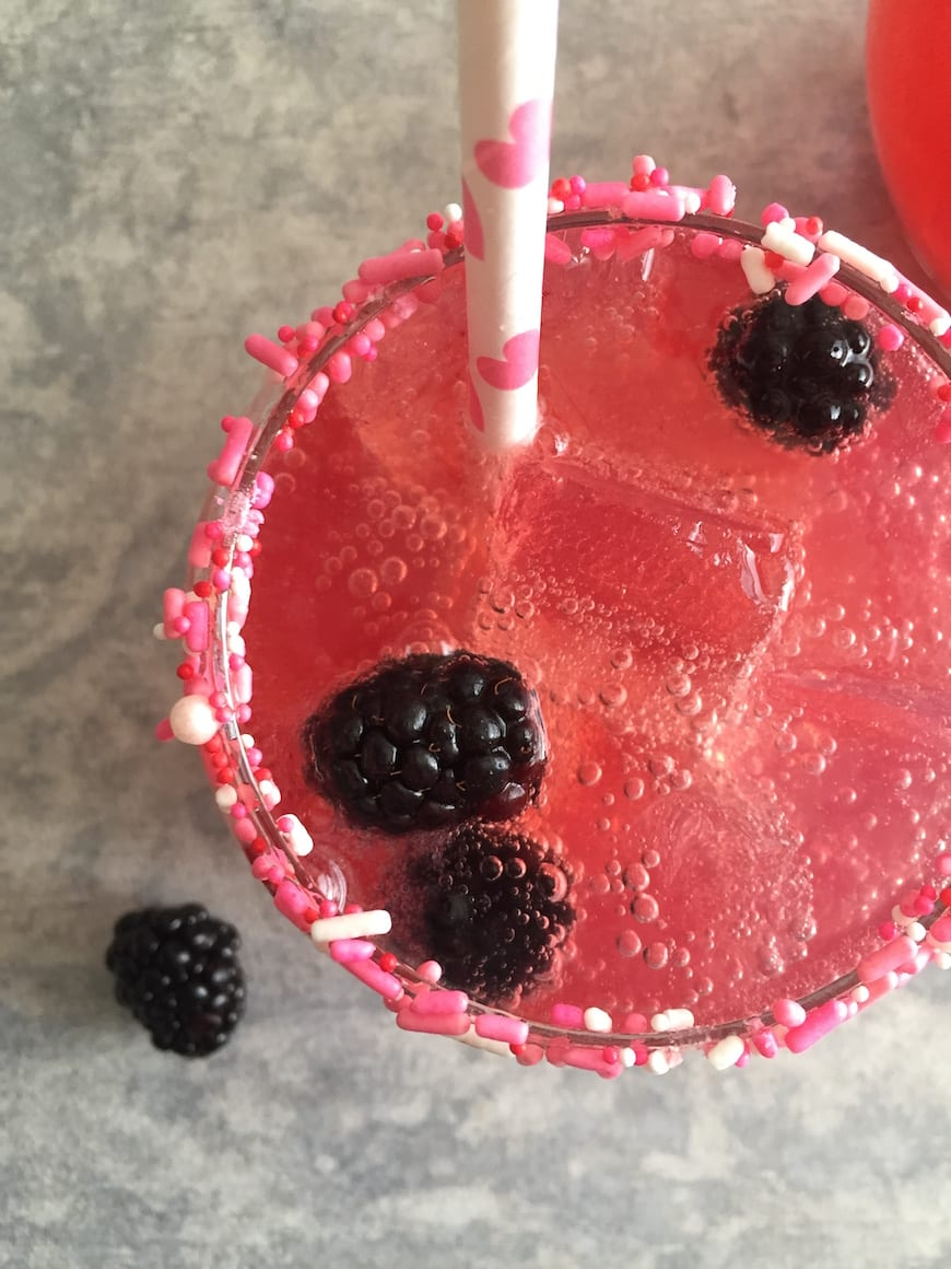Blackberry Grapefruit Margaritas from www.whatsgabycooking.com (@whatsgabycookin)