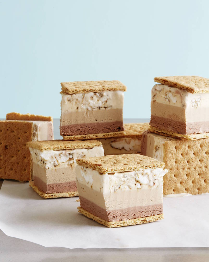 S'more Ice Cream Sandwiches from www.whatsgabycooking.com (@whatsgabycookin)